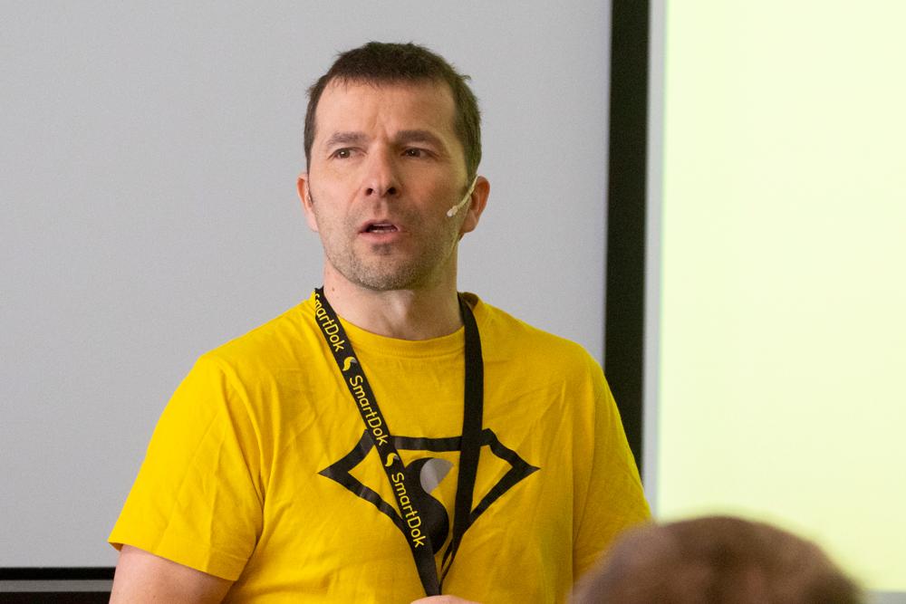 Bjørn Tore Hagberg, gründerr og daglig leder av SmartDok