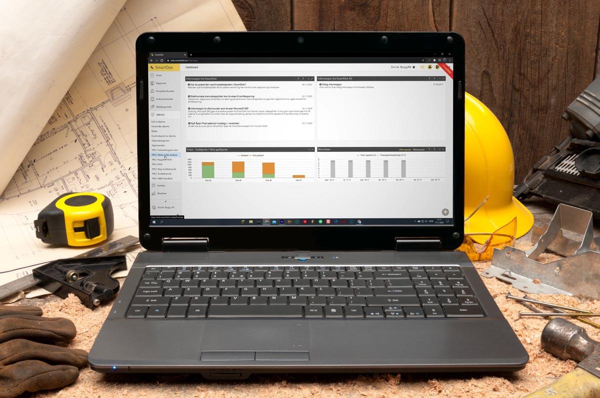 Ny fin huvudmeny för alla SmartDok-användare