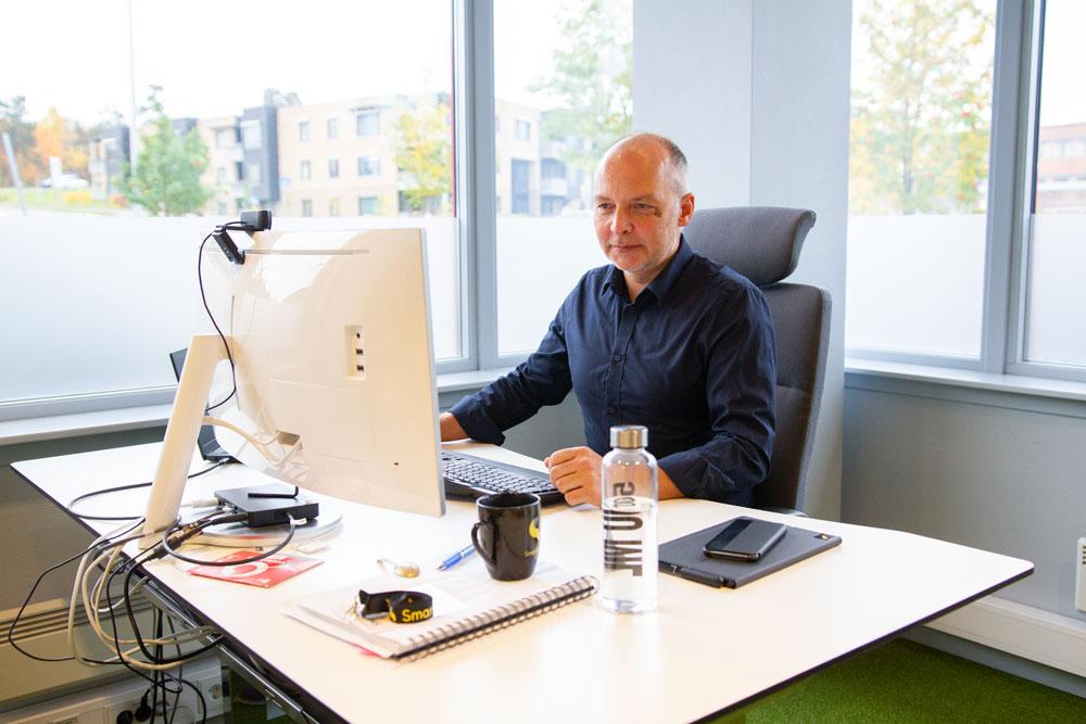Rune Haddal, R&D Manager i SmartDok